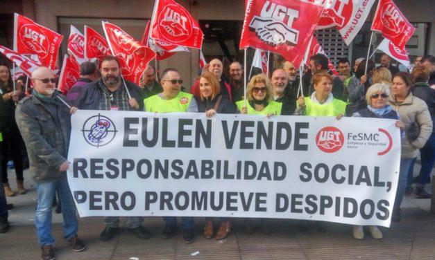 Movilizaciones contra Eulen en Galicia
