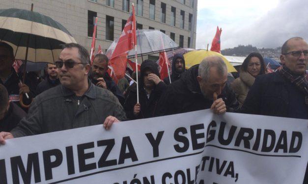 Galicia se manifiesta por la seguridad privada