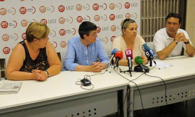 UGT avisa de una huelga indefinida en la limpieza de Son Llàzter si no se pagan las nóminas atrasadas