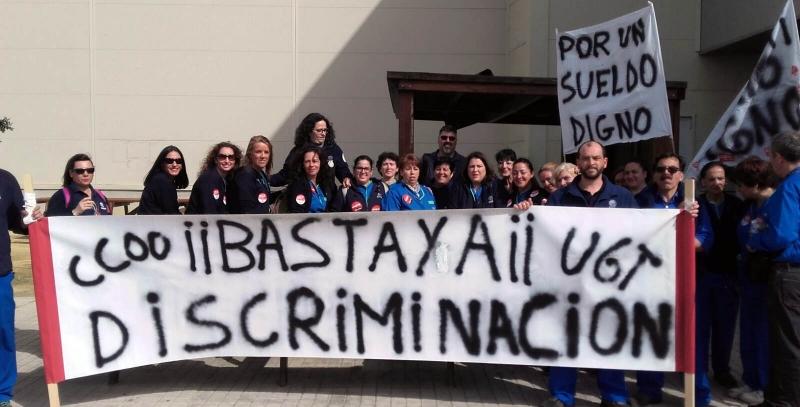 Desconvocada la huelga de limpieza en Airbus Military (Sevilla)