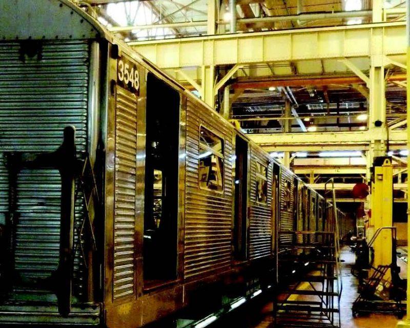 Buenas prácticas preventivas en la limpieza de trenes y talleres ferroviarios