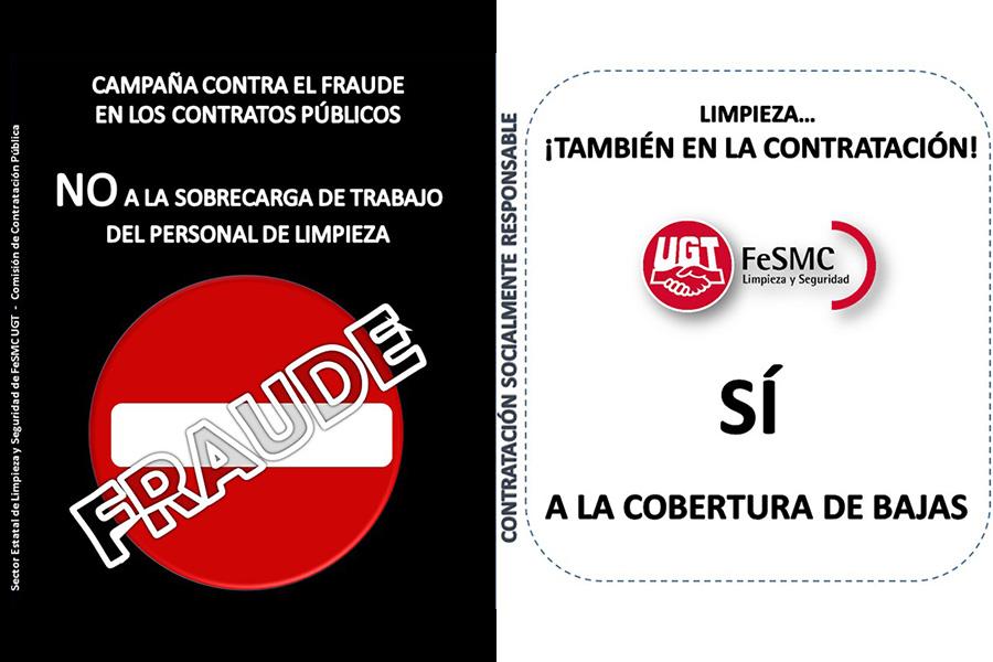 Campaña antifraude en los contratos públicos de limpieza